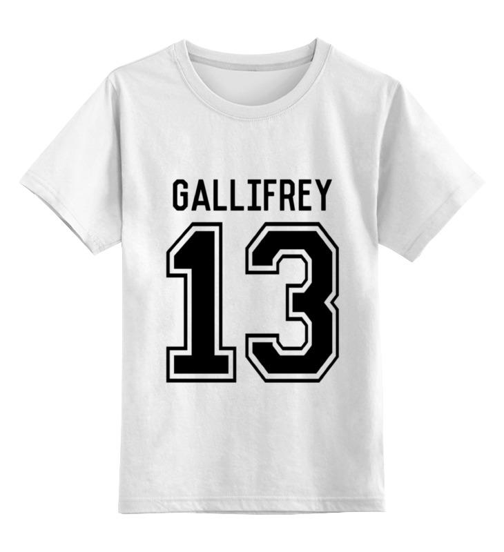 Printio Детская футболка классическая унисекс Галлифрей