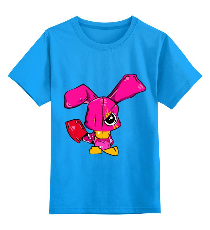 Printio Детская футболка классическая унисекс Злой кролик