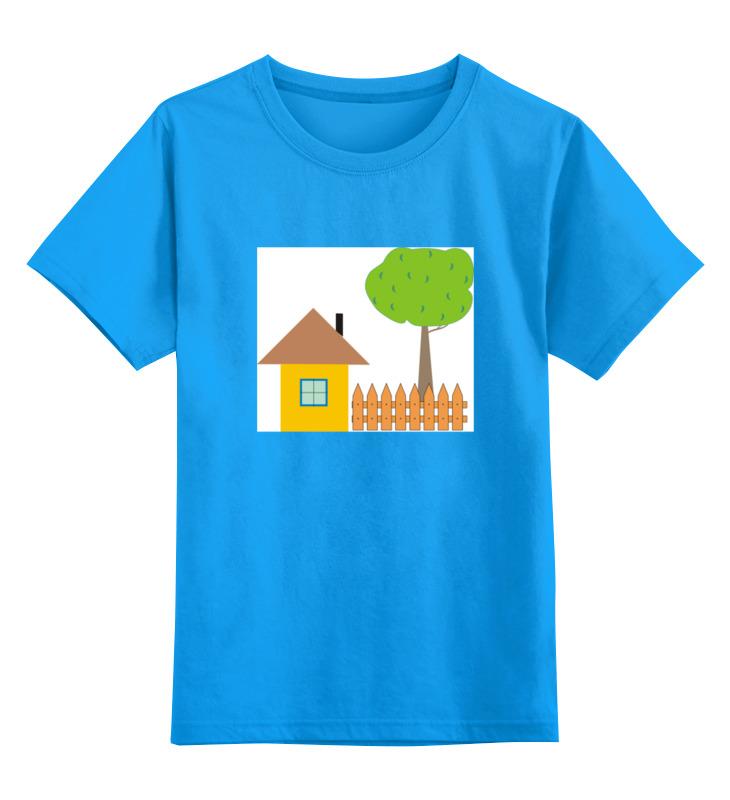 Printio Детская футболка классическая унисекс Ьаьушкин домик