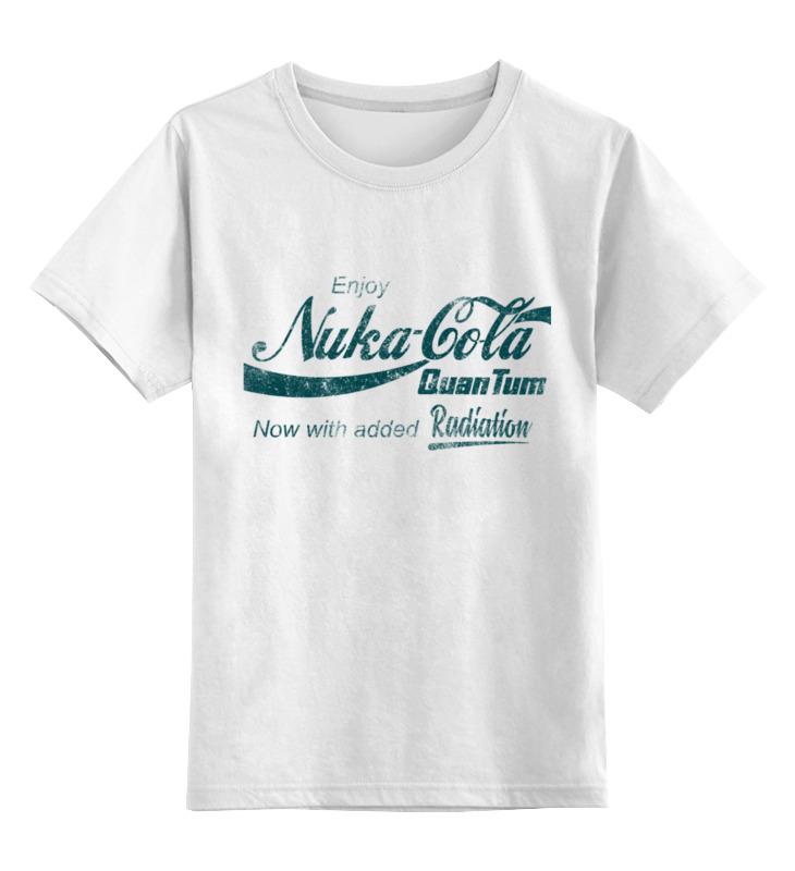 Фото - Printio Детская футболка классическая унисекс Nuka-cola quantum. fallout printio детская футболка классическая унисекс coca cola enjoy truth