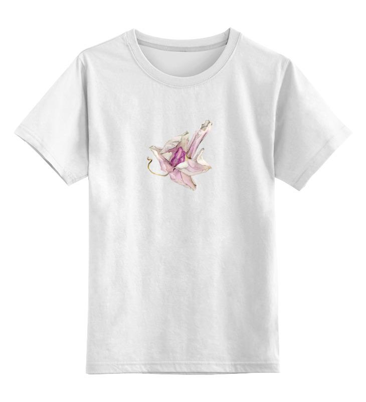 printio футболка классическая орхидея высушеная phalaenopsis Printio Детская футболка классическая унисекс Орхидея высушеная phalaenopsis