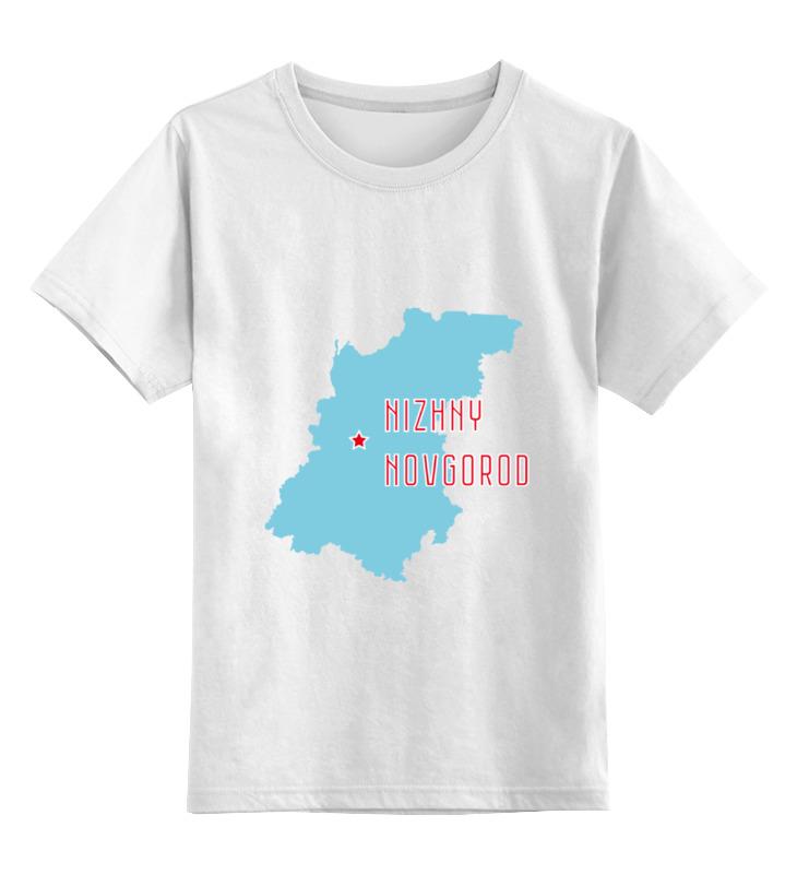 Printio Детская футболка классическая унисекс Нижегородская область. нижний новгород