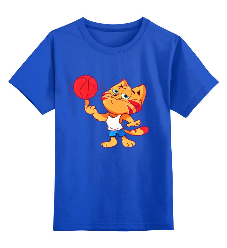 Printio Детская футболка классическая унисекс Баскетбол