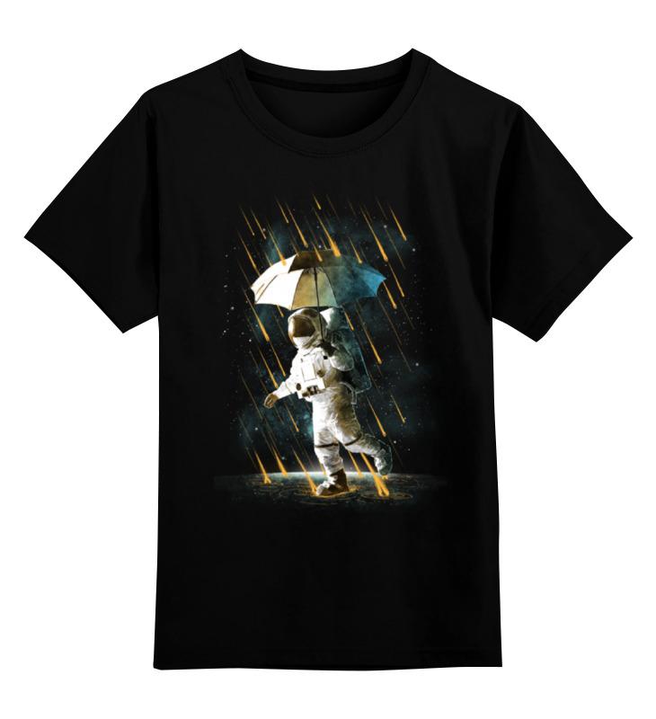 Printio Детская футболка классическая унисекс Метеоритный дождь