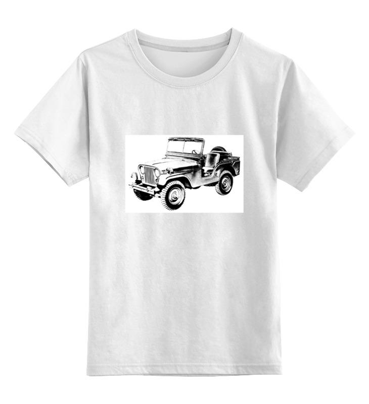 Printio Детская футболка классическая унисекс Настоящий джип 4х4