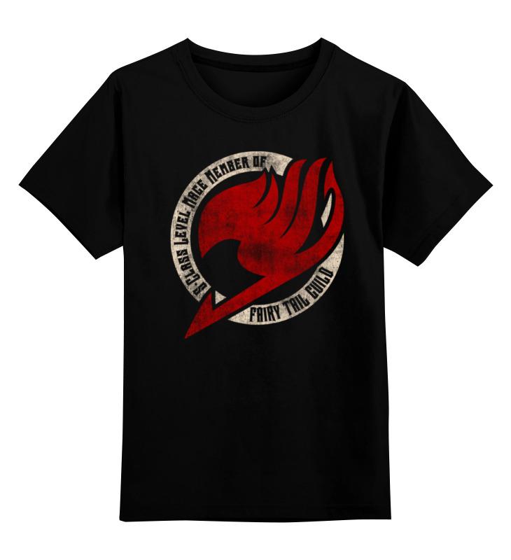 Printio Детская футболка классическая унисекс Fairy tail ( хвост феи )