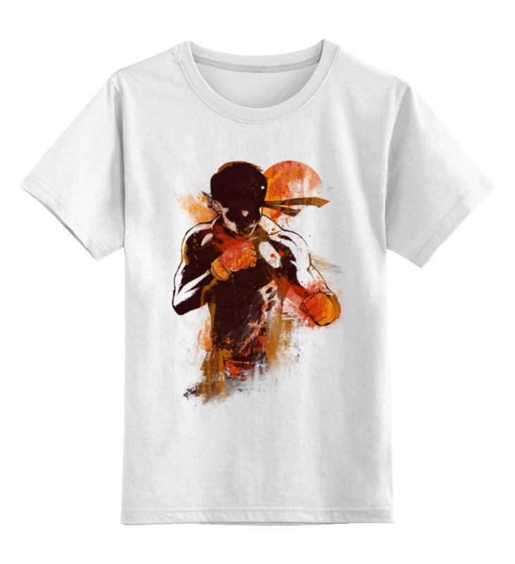 детская футболка классическая унисекс printio джентльмен боец Printio Детская футболка классическая унисекс Абстрактный боец