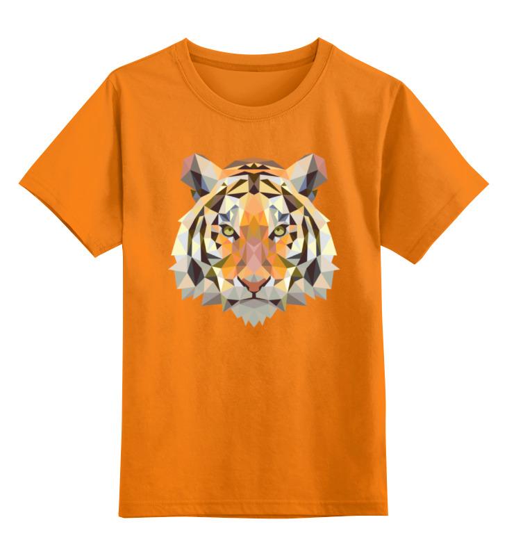 Фото - Printio Детская футболка классическая унисекс Полигональный тигр printio детская футболка классическая унисекс полигональный кабан