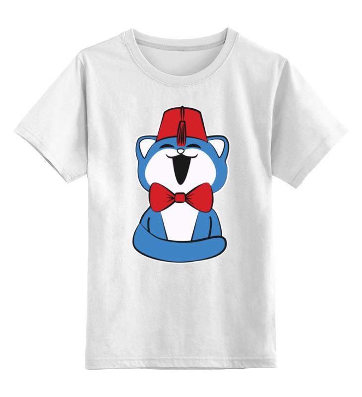 Printio Детская футболка классическая унисекс Кот (доктор кто) недорого