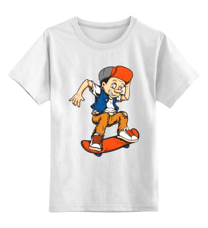 Printio Детская футболка классическая унисекс ❖pinocchio&skate❖ printio детская футболка классическая унисекс skate riders