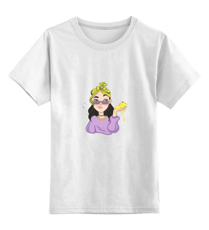 Printio Детская футболка классическая унисекс Мерч билли айлиш
