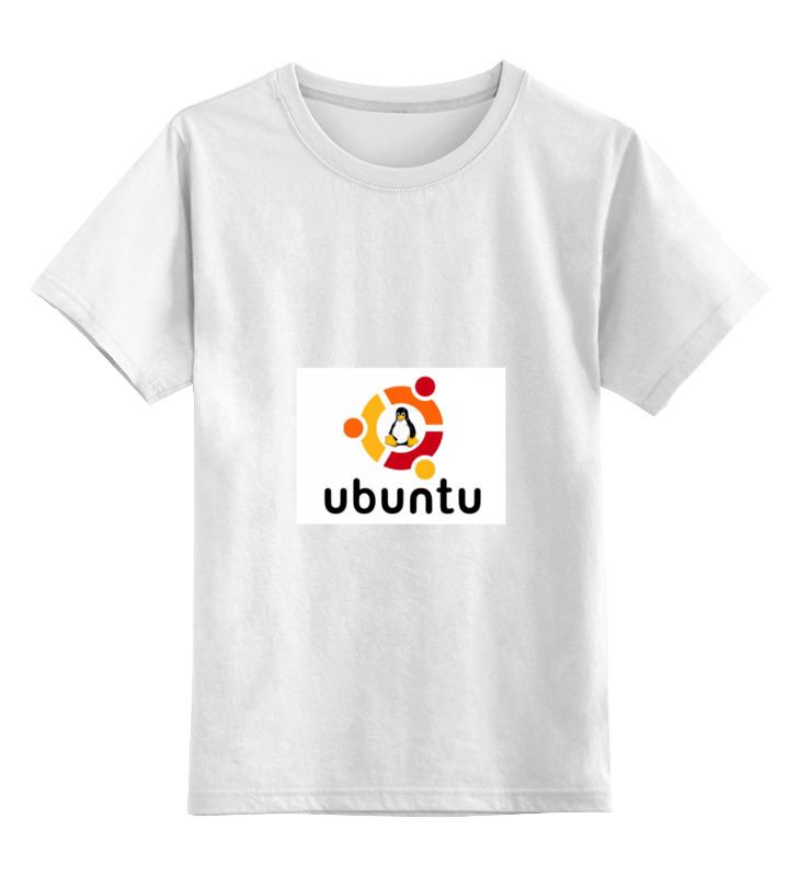 Printio Детская футболка классическая унисекс Ubuntu