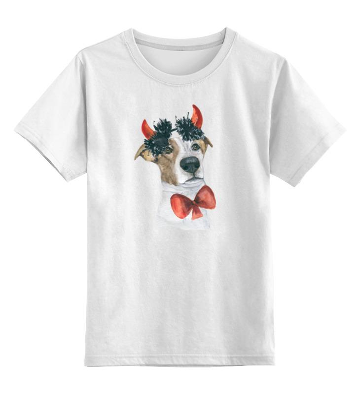 Printio Детская футболка классическая унисекс Джек рассел терьер