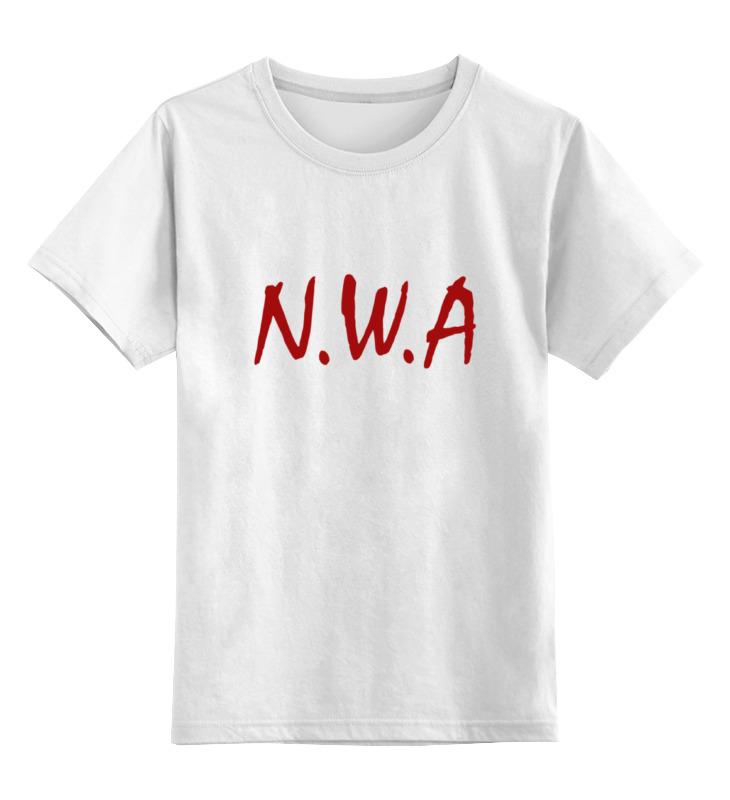 Printio Детская футболка классическая унисекс Группа n.w.a