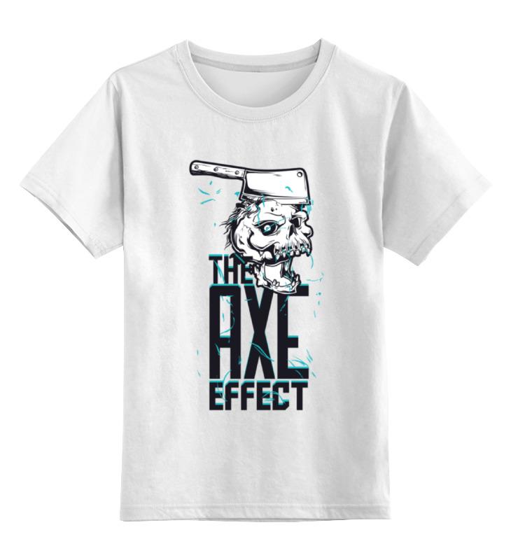 Printio Детская футболка классическая унисекс The axe effect майка классическая printio the axe effect