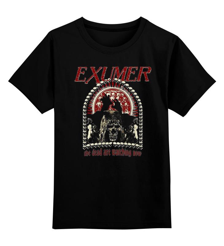 Printio Детская футболка классическая унисекс Exumer (thrash metal band) printio детская футболка классическая унисекс exumer thrash metal band