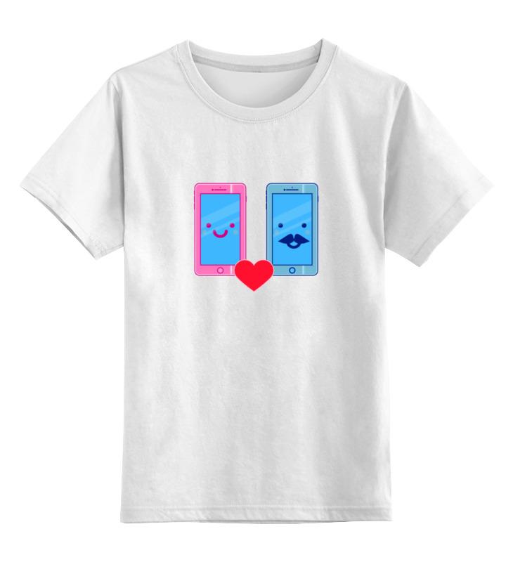 Printio Детская футболка классическая унисекс Телефоны влюблены