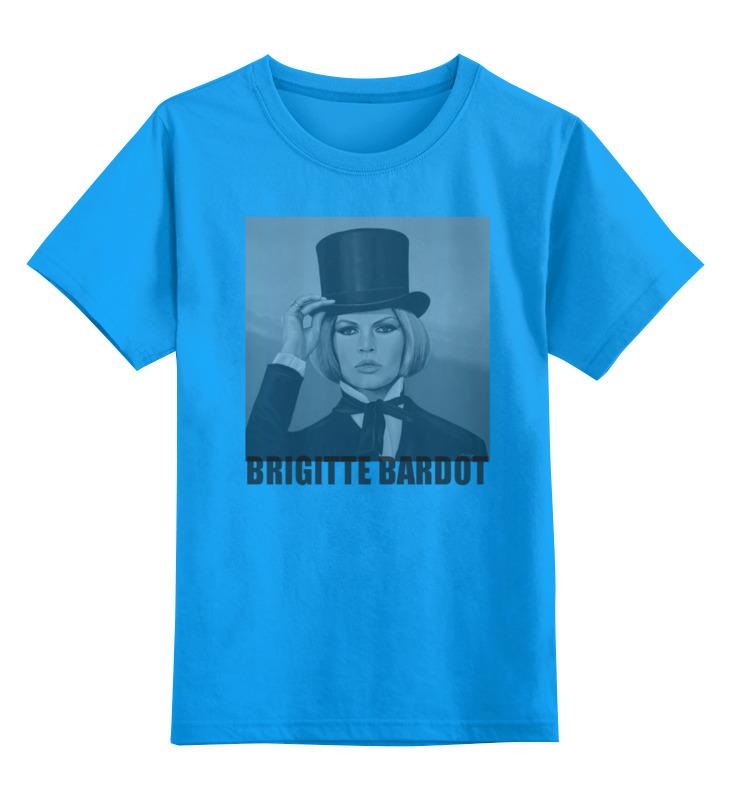Printio Детская футболка классическая унисекс Brigitte bardot недорого