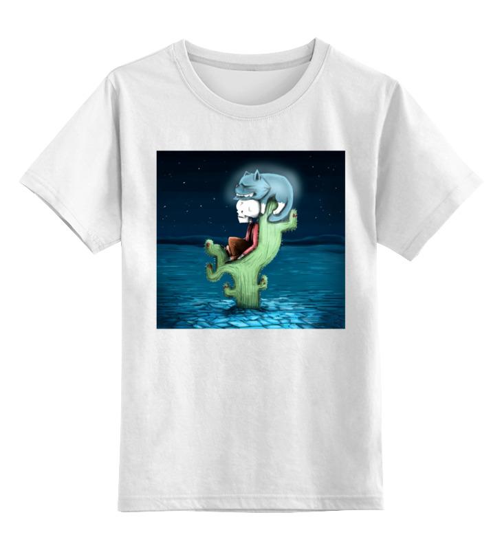 Фото - Printio Детская футболка классическая унисекс Скелет и жуткий кот printio детская футболка классическая унисекс скелет и жуткий кот
