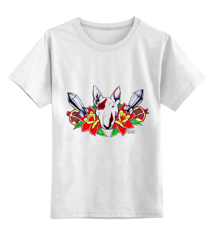Printio Детская футболка классическая унисекс Петя буль т футболка wearcraft premium printio петя буль т