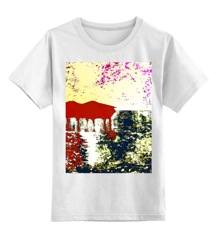 Printio Детская футболка классическая унисекс Мальдивы на закате