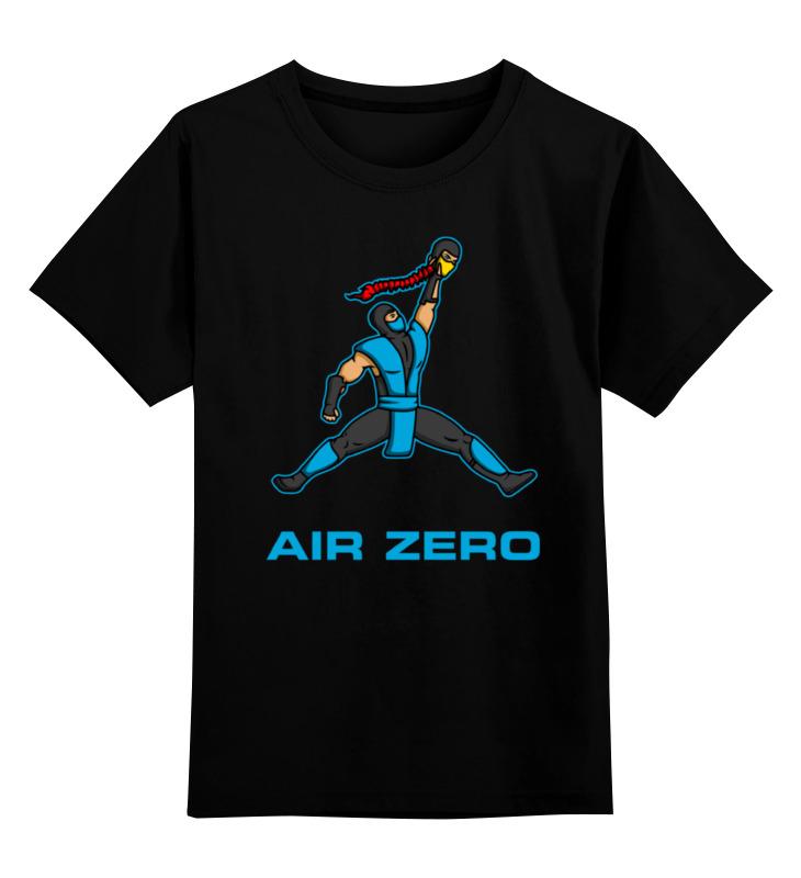 Printio Детская футболка классическая унисекс Саб-зиро и скорпион (мортал комбат)