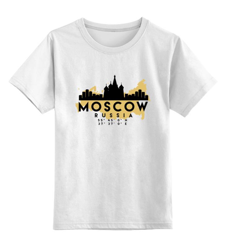 Printio Детская футболка классическая унисекс Москва (россия) printio детская футболка классическая унисекс россия царская