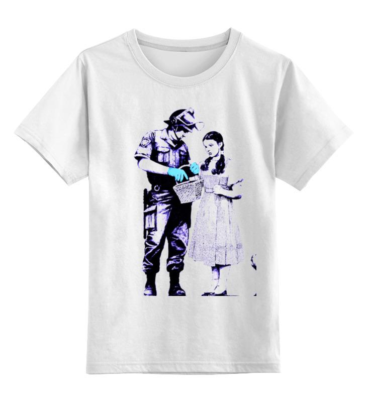 Printio Детская футболка классическая унисекс Dorothy police search