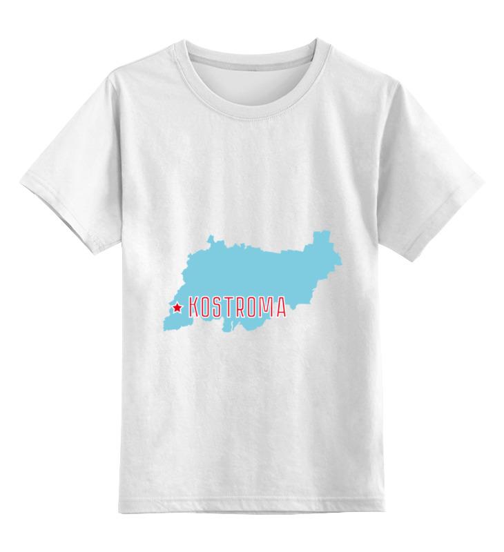 Printio Детская футболка классическая унисекс Костромская область. кострома