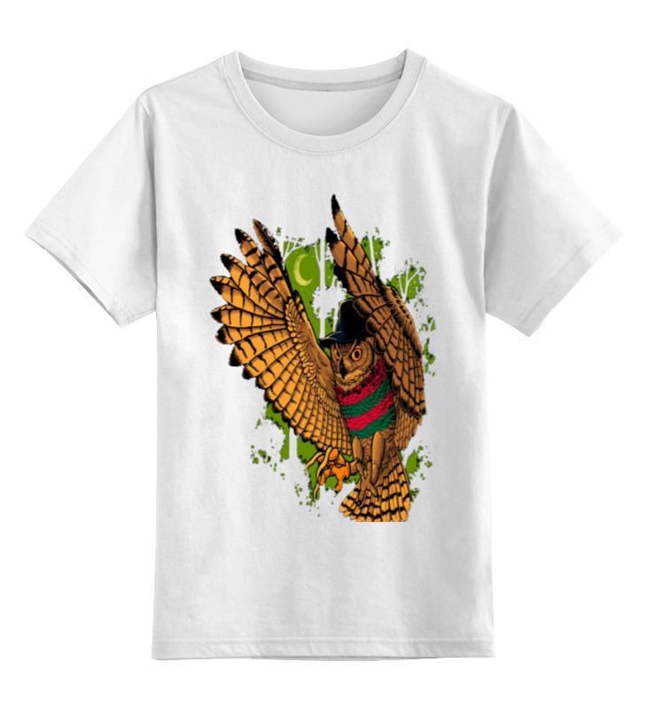 Printio Детская футболка классическая унисекс Летящая сова