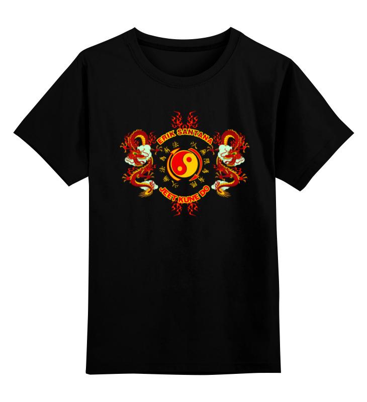 Printio Детская футболка классическая унисекс Erik santana - jeet kune do printio майка классическая erik santana jeet kune do