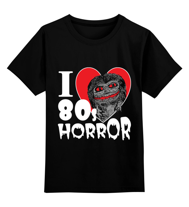 Printio Детская футболка классическая унисекс Ужасы