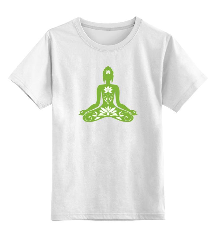 Printio Детская футболка классическая унисекс Поза лотоса (йога) printio детская футболка классическая унисекс йога девушка