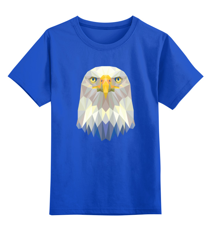 Фото - Printio Детская футболка классическая унисекс Полигональный орёл printio детская футболка классическая унисекс полигональный кабан