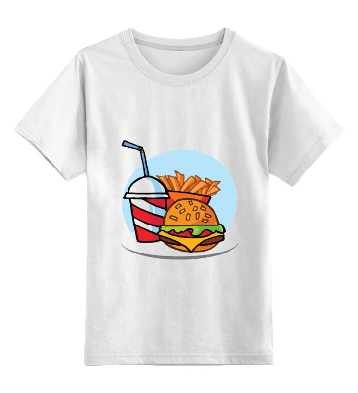 Printio Детская футболка классическая унисекс Фастфуд