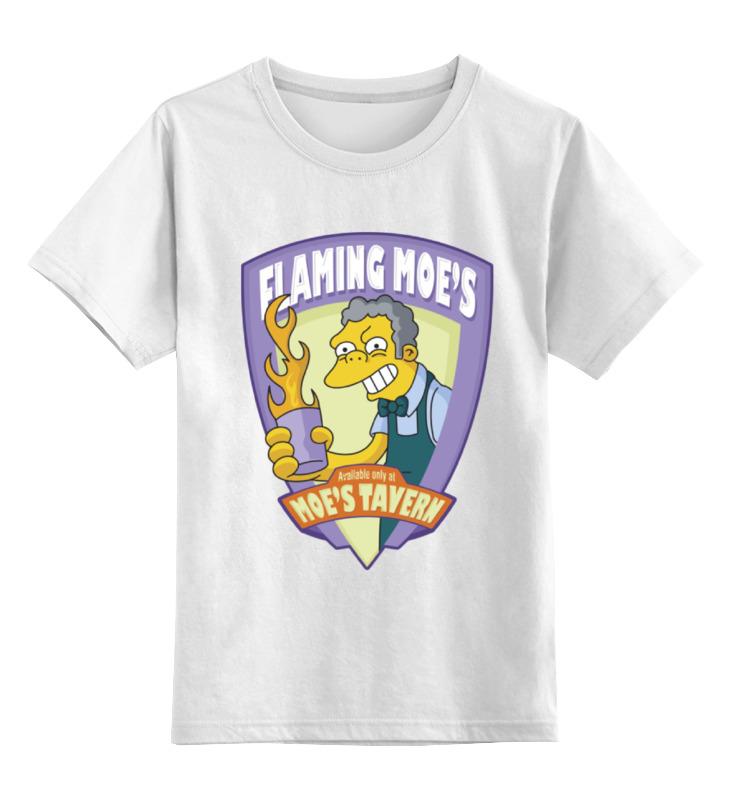 Printio Детская футболка классическая унисекс Таверна мо (симпсоны)
