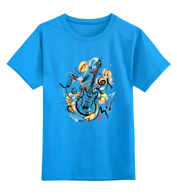 Фото - Printio Детская футболка классическая унисекс Музыкальная абстракция printio детская футболка классическая унисекс волк абстракция
