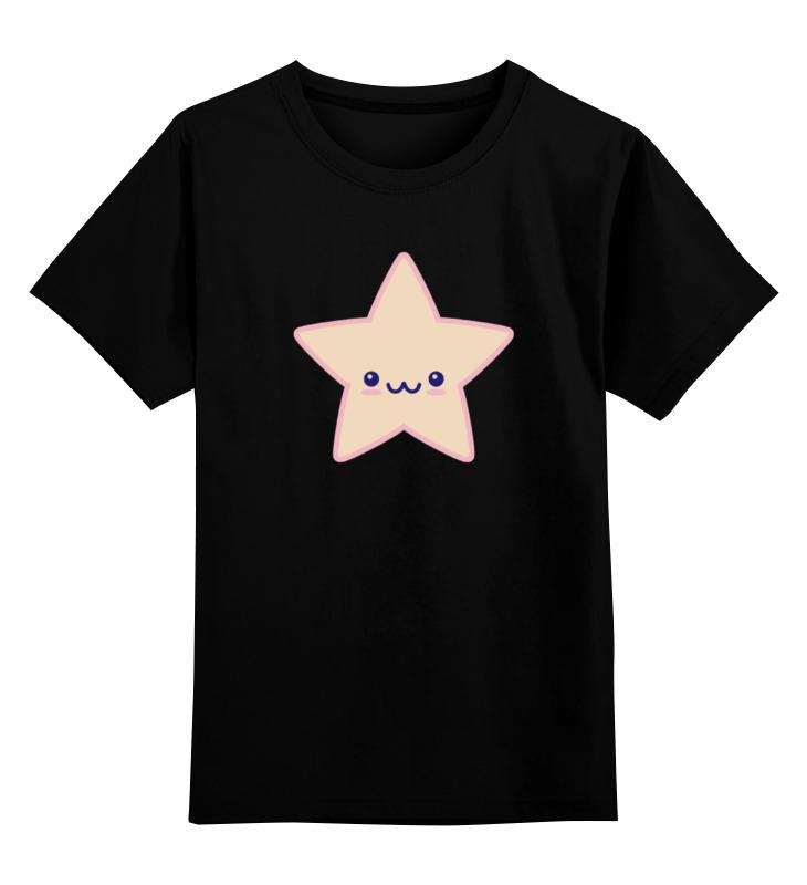 Printio Детская футболка классическая унисекс Няшная звезда