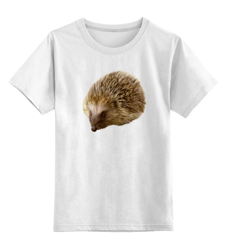 Printio Детская футболка классическая унисекс Лесной ёжик