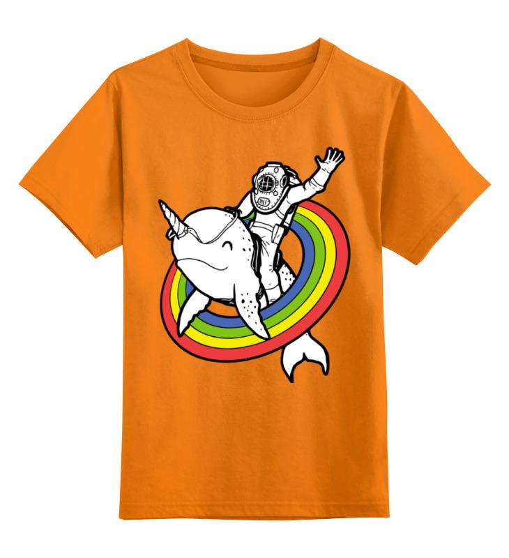 Printio Детская футболка классическая унисекс Нарвал