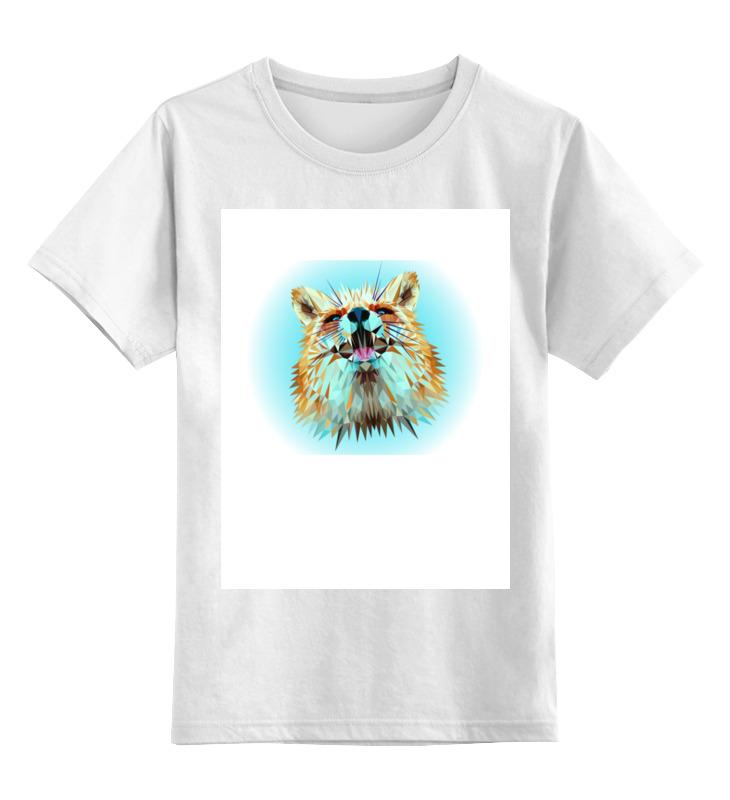 Фото - Printio Детская футболка классическая унисекс Low poly fox printio детская футболка классическая унисекс полигональный кабан