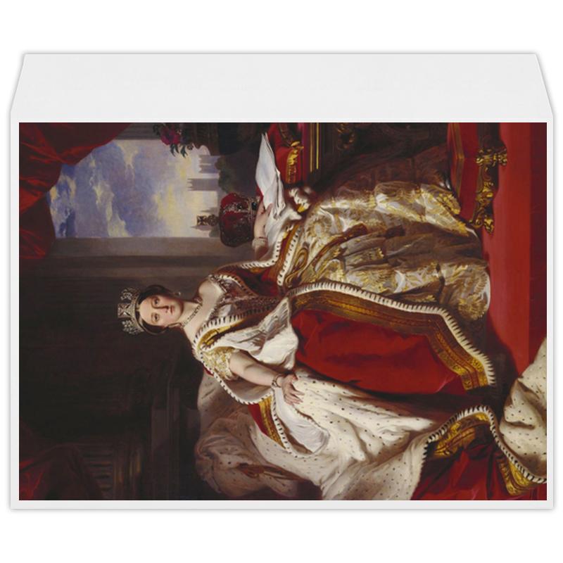 Printio Конверт большой С4 Портрет королевы великобритании виктории