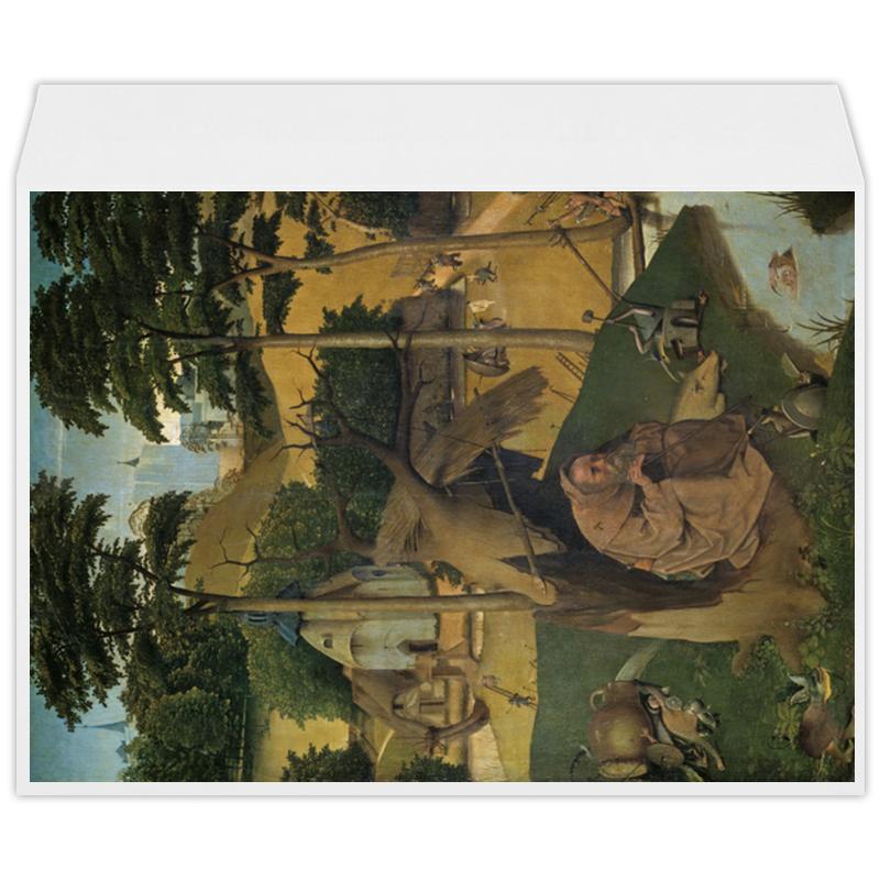 Фото - Printio Конверт большой С4 Искушение святого антония (картина босха) printio пазл магнитный 18×27 см 126 элементов искушение святого антония картина босха