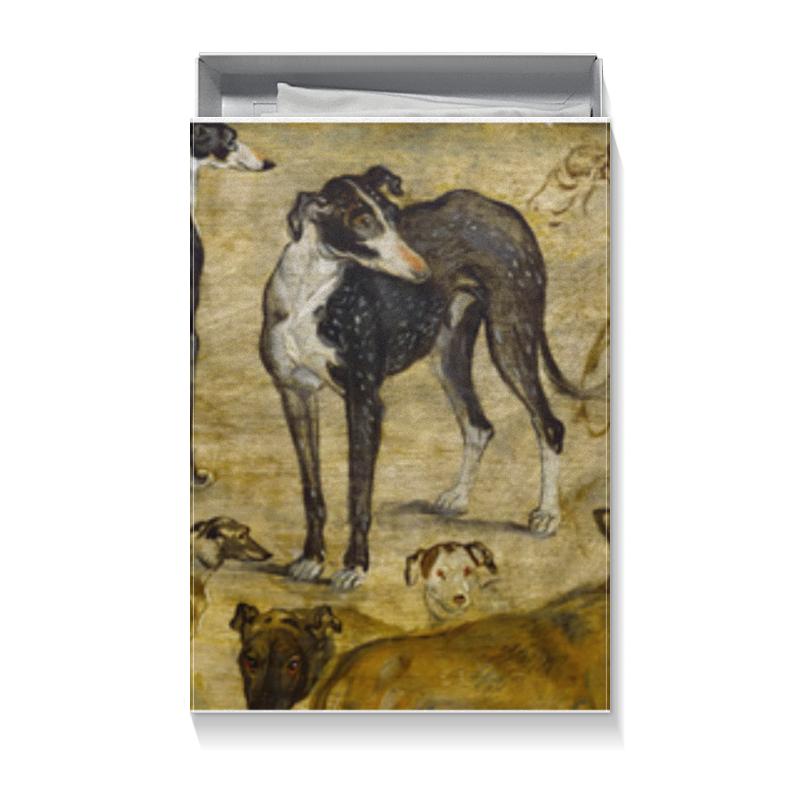 Printio Коробка для футболок Собаки (картина брейгеля)