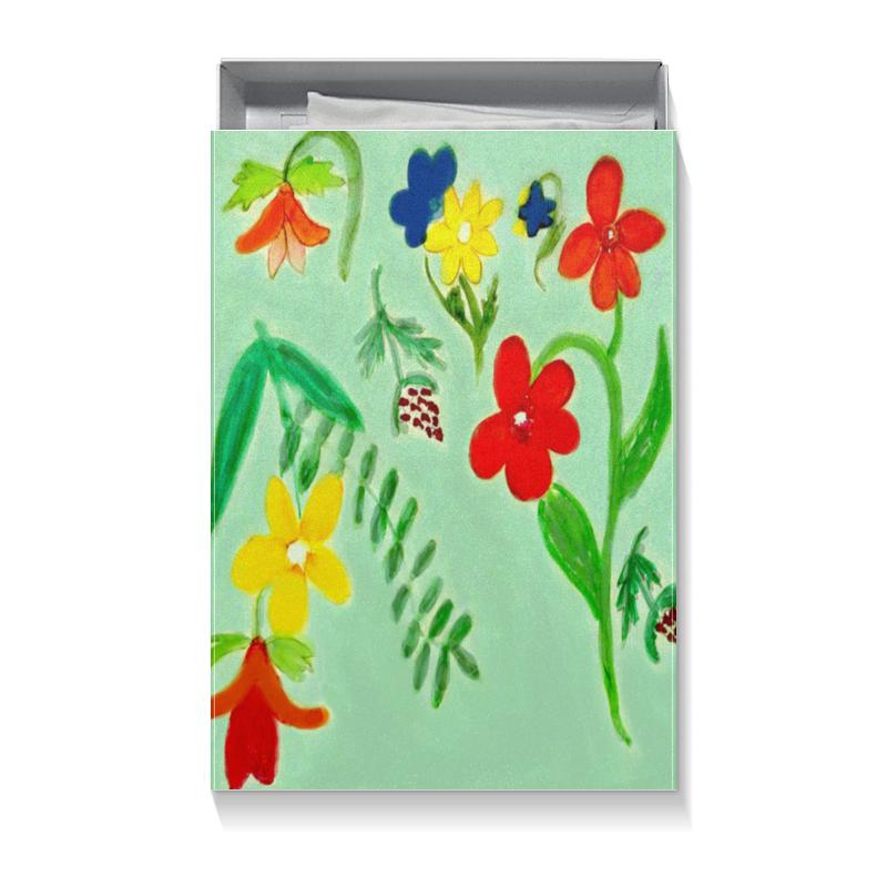 Printio Коробка для футболок Подарочная летние цветы