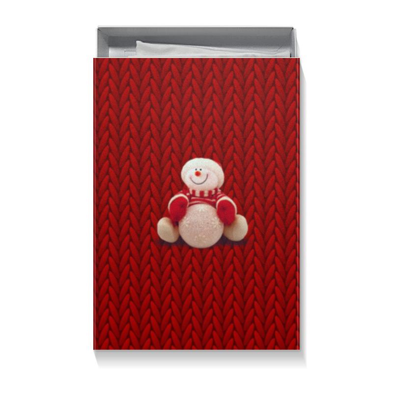 Printio Коробка для футболок Снеговик