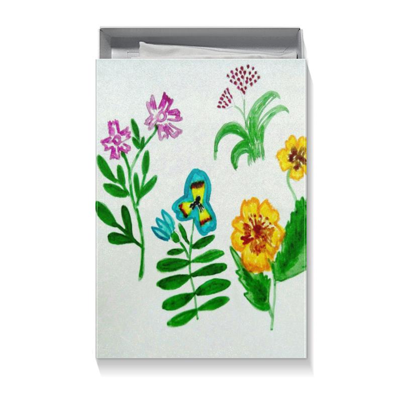 Printio Коробка для футболок Полевые цветы
