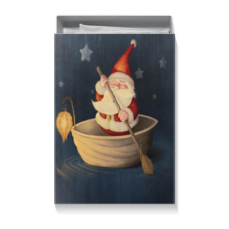 Printio Коробка для футболок Санта