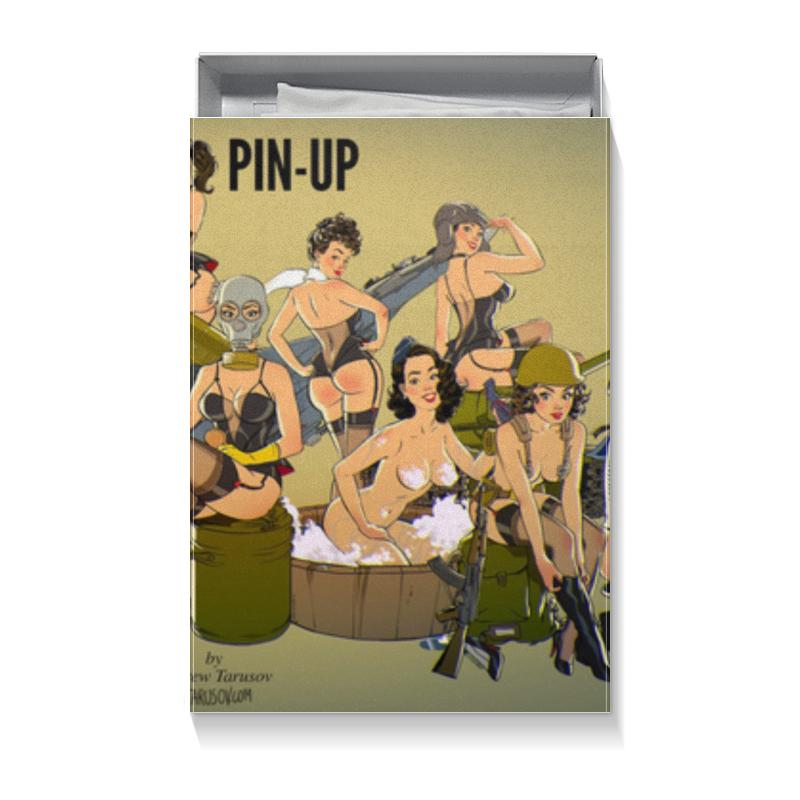 Printio Коробка для футболок Прикольный для мужчины (пинап андрея тарусова)
