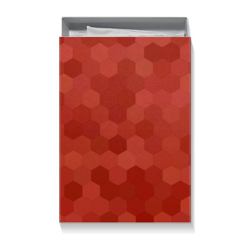 Printio Коробка для футболок Красная абстракция недорого